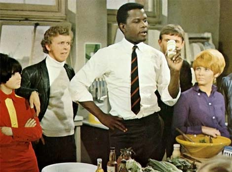 Sidney Poitier in To Sir With Love