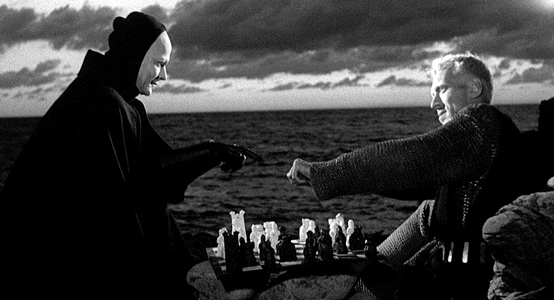 The Seventh Seal with Max Von Sydow and Bengt Ekerot