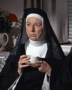 Mary Wicks as Sister Clarissa in Where Angels Go Trouble Follows
