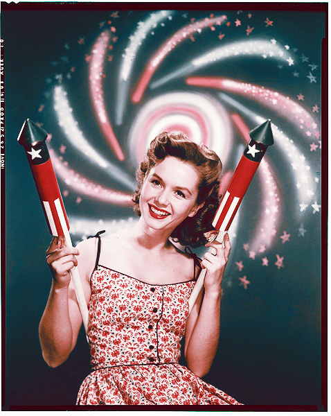 Debbie Reynolds July 4