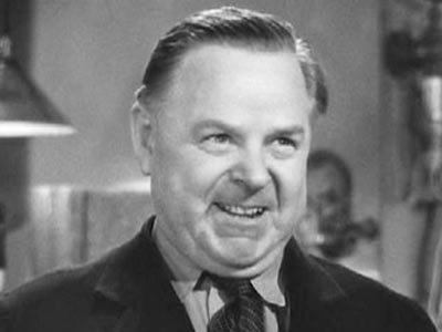 Gene Lockhart in His Girl Friday