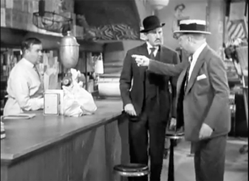 Morgan Wallace and WC Fields in It's a Gift Kumqats scene