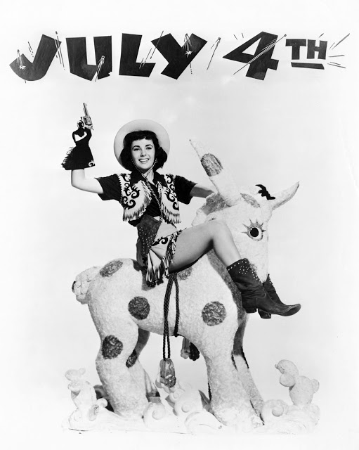 Elizabeth Taylor July 4th