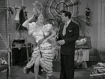Lucille Ball impersonating Carmen Miranda