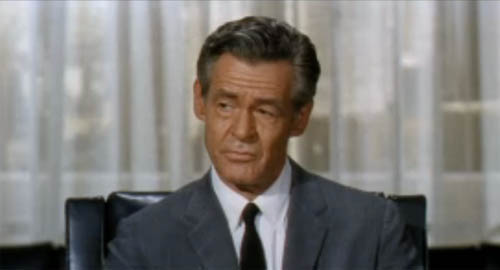 Robert Ryan in The Busy Body