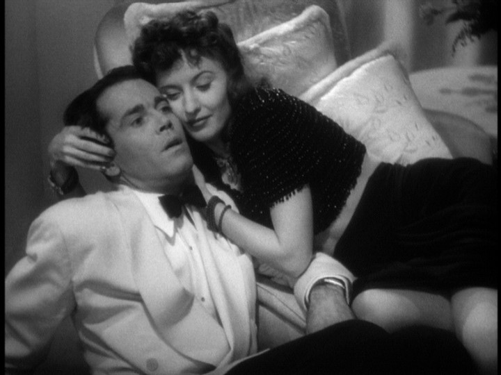 The Lady Eve, Barbara Stanwyck and Henry Fonda in stateroom