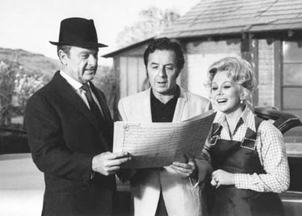 Vic Mizzy Green Acres Theme Song Composer with Eddie Albert and Eva Gabor