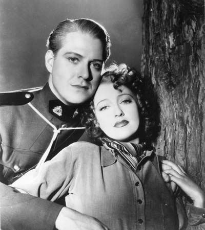 Jeanette MacDonald and Nelson Eddy in Rose-Marie