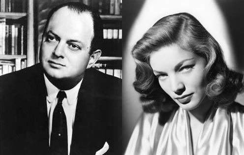 Producer Jerry Wald and Lauren Bacall, both share birthday of Sept 16