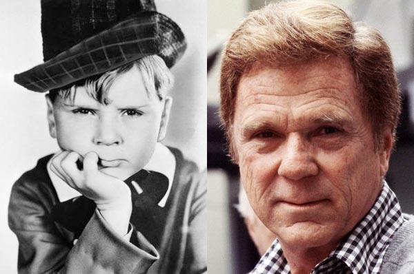 Jackie Cooper as child actor and as adult