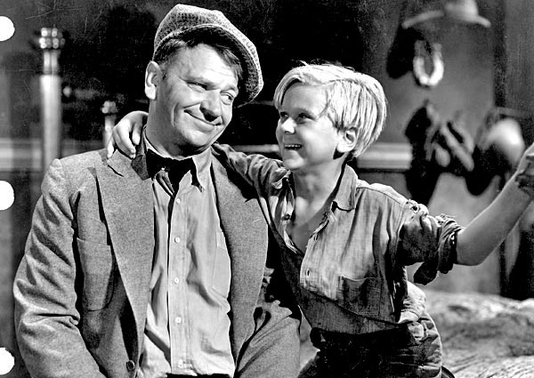 Wallace Beery and Jackie Cooper in The Champ 1931