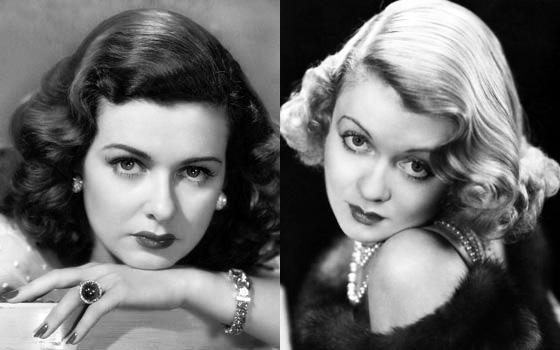 Sisters Joan Bennett and Constance Bennett