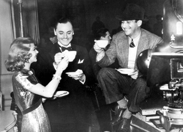 Mark Sandrich, Ginger Rogers, Jerome Cowan, Shall We Dance Behind the Scenes