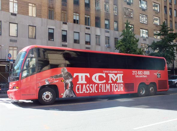 TCM On Location NYC Bus Tour Bus