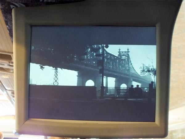 TCM On Location NYC Queensborough Bridge scene from Woody Allen's Manhattan film clip