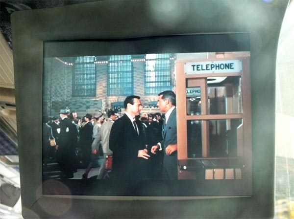 CM On Location NYC Tour North by Northwest Grand Central Terminal Scene film clip
