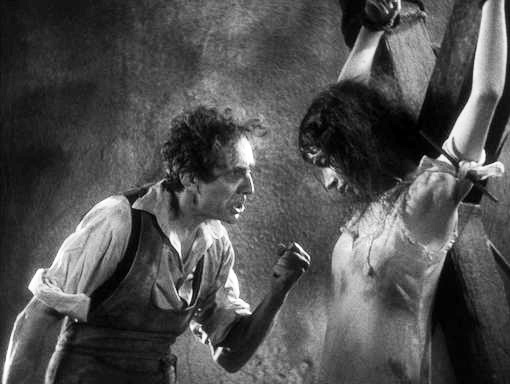 Bela Lugosi and Arlene Francis in Murders in the Rue Morgue 1932