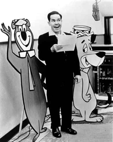 daws butler the voice of yogi bear and huckleberry hound