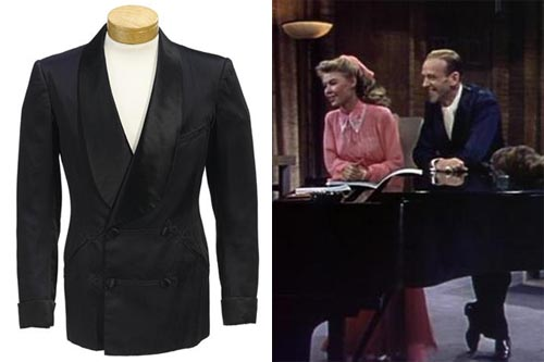 FRED ASTAIRE SMOKING JACKET FROM THREE LITTLE WORDS TCM Bonham's Auction