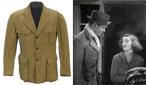 CLARK GABLE JACKET FROM TOO HOT TO HANDLE TCM Bonham's Auction