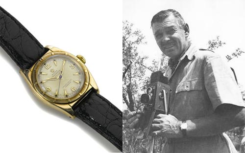 CLARK GABLE PERSONAL WRISTWATCH TCM Bonham's Auction
