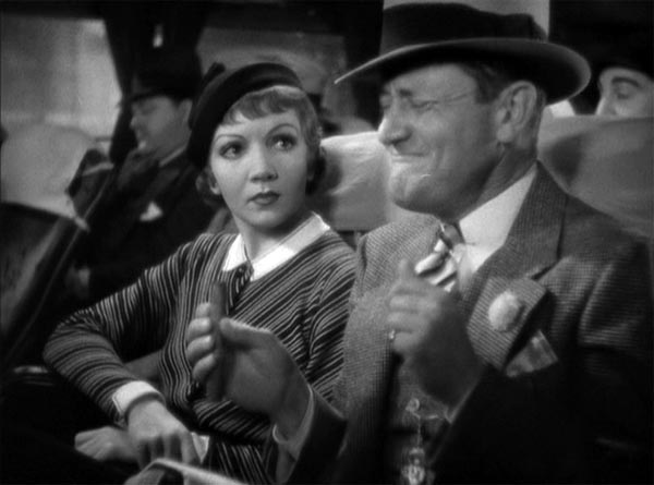 Roscoe Karns as Shapeley in It Happened One Night