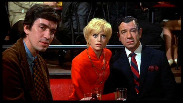 Rick Lenz, Goldie Hawn and Walter Matthau in Cactus Flower
