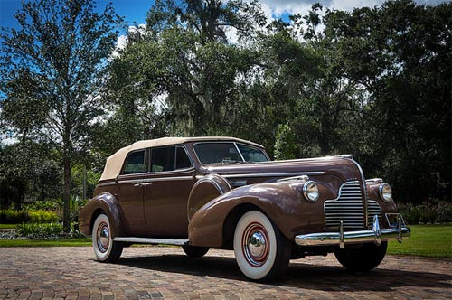 THE 1940 BUICK PHAETON AUTOMOBILE FROM CASABLANCA TCM Bonhams Auction November 23, 2013 What Dreams are Made Of