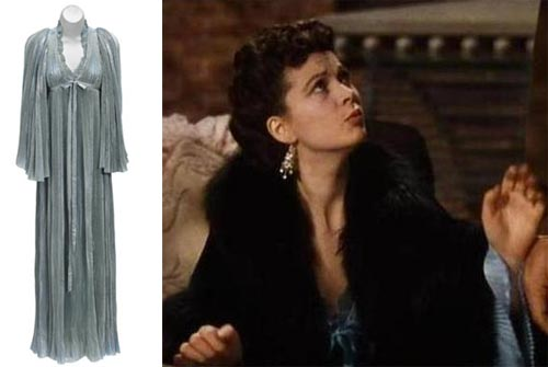 A VIVIEN LEIGH NEGLIGÉE FROM GONE WITH THE WIND TCM Bonham's Auction November 25, 2013