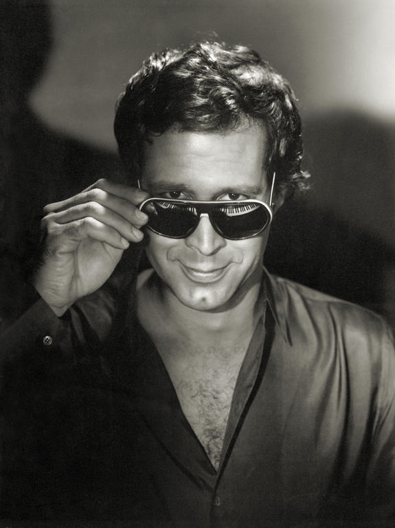 Chevy Chase by Hurrell. [photo: George Hurrell's Hollywood (Running Press)]