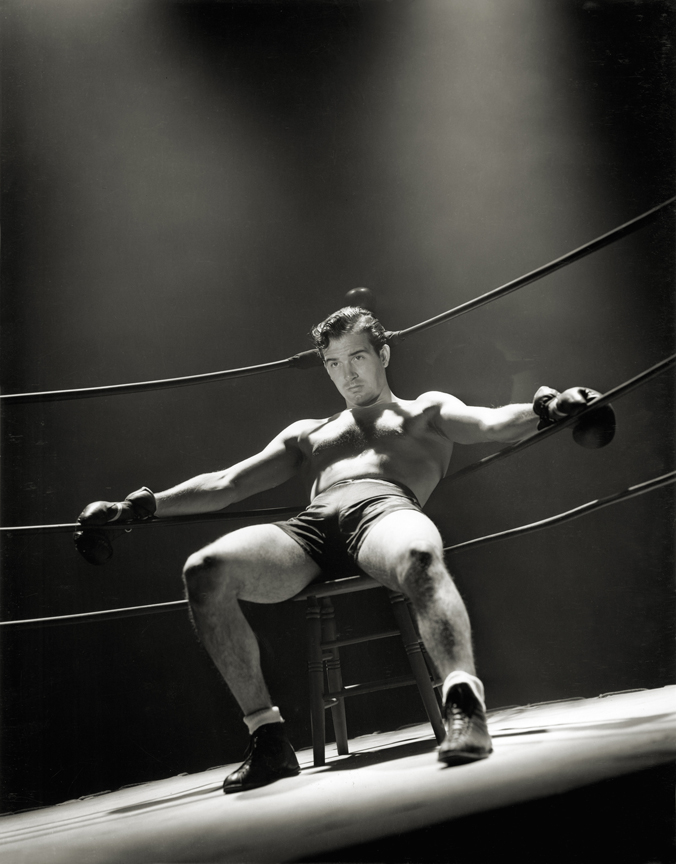 John Payne by Hurrell 1939.  [photo: George Hurrell's Hollywood (Running Press)]