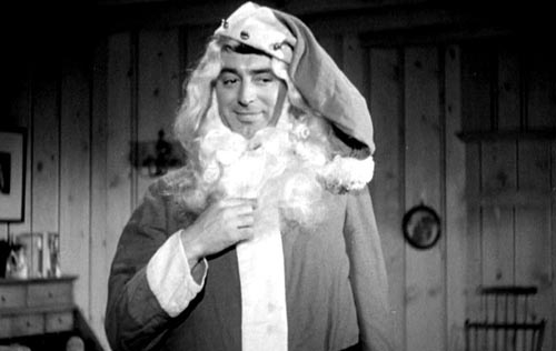 Cary Grant as Santa Claus in My Favorite Wife