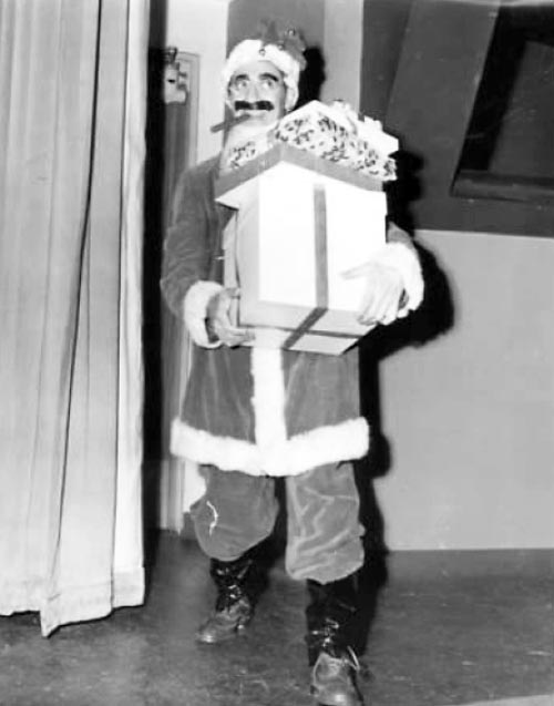 Groucho Marx as Santa Claus