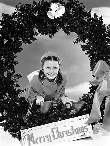 Margaret O'Brien Christmas