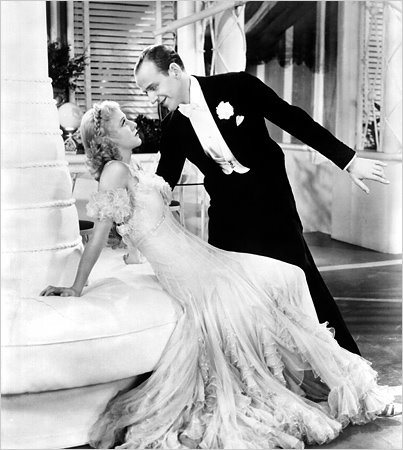 Fred Astarie and Ginger Rogers dancing to Cole Porter's Night and Day from The Gay Divorcee