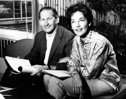 Writers Michael and Fay Kanin