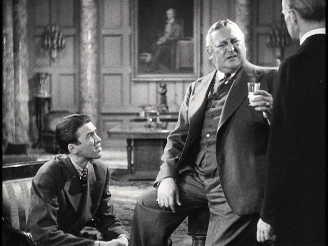 You Can't Take It With You, Edward Arnold and Jimmy Stewart