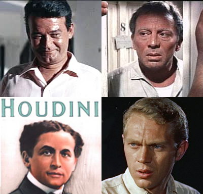 Steve McQueen, Murray Hamilton, Norman Fell, Harry Houdini, all born on same day March 24