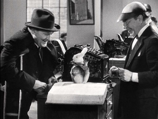 You Cant Take It With You Mr Poppins inventor, Donald Meek and Lionel Barrymore