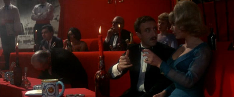 Inspector Clouseau, Peter Sellers, A Shot in the Dark, dodging bullet