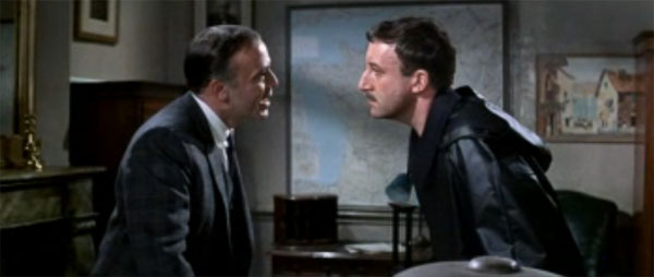 Inspector Clouseau, Peter Sellers, with Charles Dreyfus, Herbert Lom, in A Shot in the Dark