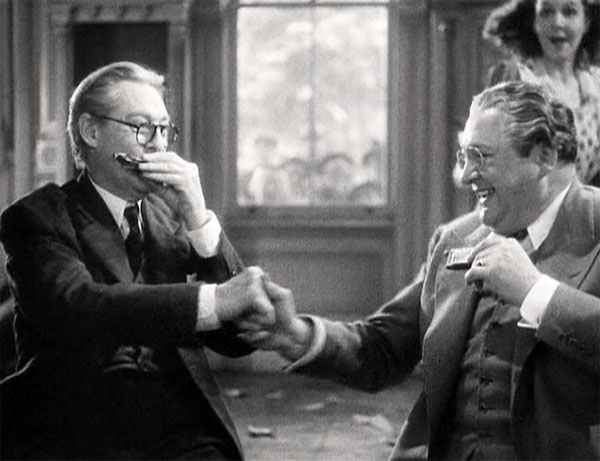 ou cant take it with you, edward arnold and lionel barrymore, ending