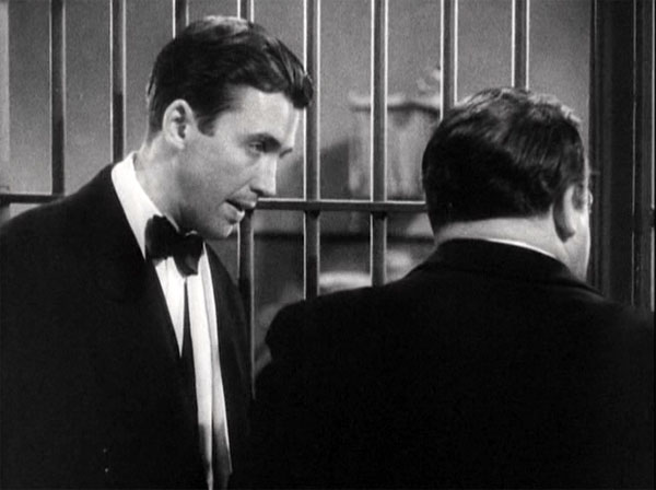 you cant take it with you, james stewart and edward arnold in jail