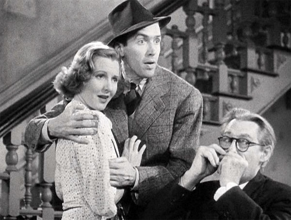 you cant take it with you, jean arthur, james stewart, happy ending