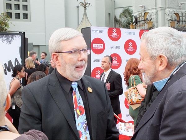 Leonard Maltin TCM Film Festival Red Carpet Event 2014 1, Classic Movie Hub