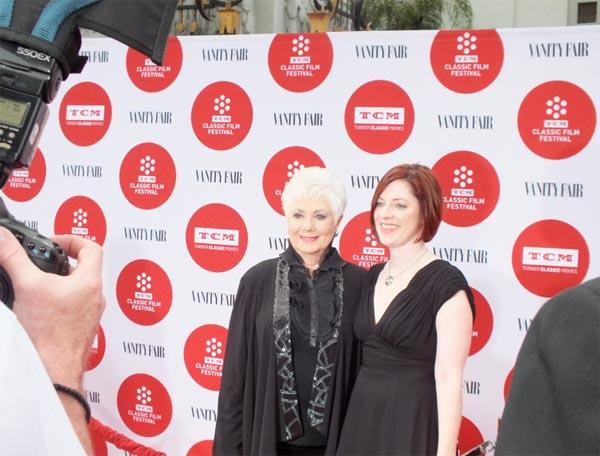 Shirley Jones And Genevieve McGillicuddy TCM Film Festival Red Carpet 2014 1, Classic Movie Hub