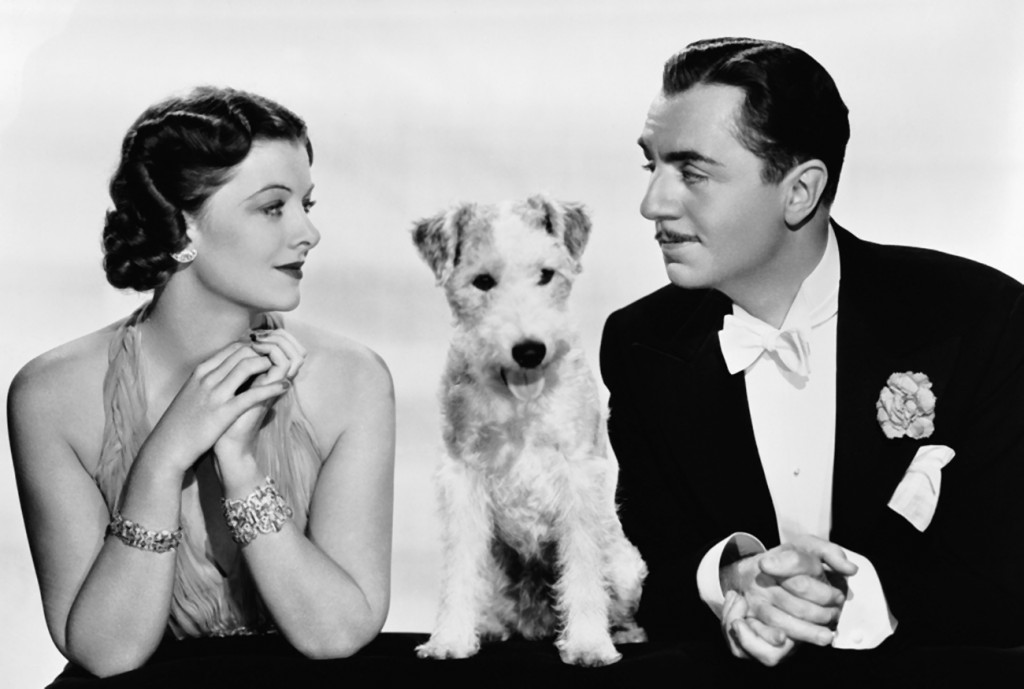 Asta the Dog, William Power, Myrna Loy, The Thin Man, Publicity Still