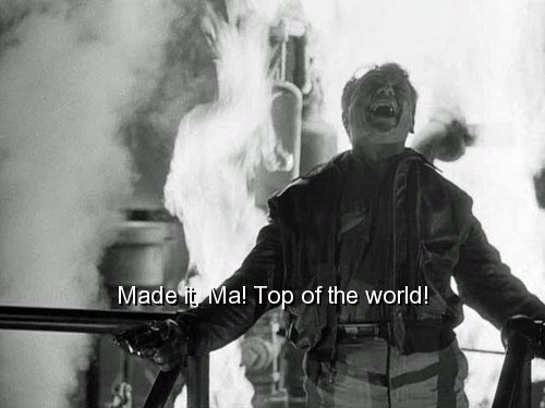 James Cagney, White Heat, Made it Ma Top of the World