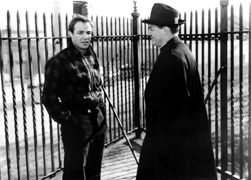 ON THE WATERFRONT, Marlon Brando, Karl Malden, 1954
