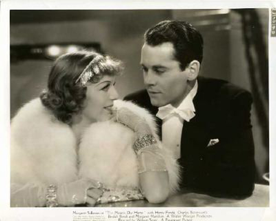 Henry Fonda and Margaret Sullavan in The Moon's Our Home